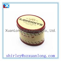 Wholesale Oval Shape Candy Tin Box Wholesale from china suppliers
