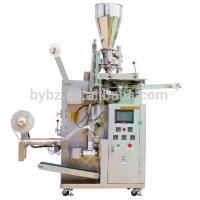 Buy cheap Good price automatic inner paper tea bag with tag outer bag packing machine from wholesalers