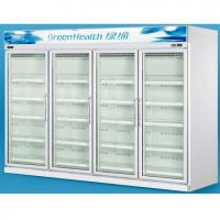 China Triple Layers Glass Door Refrigerator -20°C With Copeland Compressor on sale