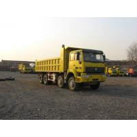 Wholesale Yellow Color Heavy Duty Trucks Heavy Load Truck 8x4 Drive 4 Axel from china suppliers
