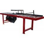 China Single circular blade edger cutting saw, Wood slab edgers saw mill machine for sale