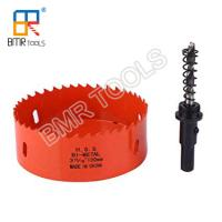 China BOMA TOOLS Industrial Quality M42 Bi-Metal Hole Saw Cutter for Metal Drilling 14mm-210mm on sale