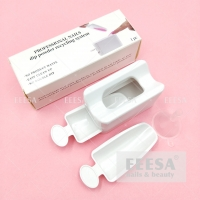 Wholesale Professional 2 Layer Spoon No Waste Glitter Storage Nails Dip Powder Recycling Box System from china suppliers