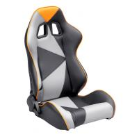 Wholesale Adjustable Style PU / PVC Leather Racing Seat / Sports Car Seat with single slider from china suppliers