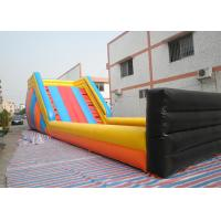 Quality Huge Outdoor Inflatable Toys Zorb Ball Track , Commercial Inflatable Zorb Ramp for sale