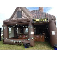 Wholesale Outdoor Activity Inflatable Lawn Tent Pop Up Inflatable Bar For Fun from china suppliers