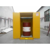 Wholesale Vertical Oil Drum Storage Cabinets , Flammable Safety Cabinet 75 Gallon from china suppliers