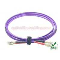 Wholesale 10 Gig OM4 Fiber Patch Cord LC - LC Duplex Fiber Patch Cable Supplier from china suppliers