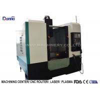 China Computer Numerical Control 3 Axis Milling Machine For Finish Machining for sale