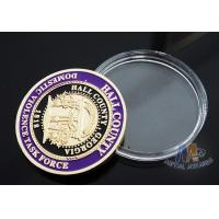 Wholesale Multi Colored Sports Challenge Coins , Durable Custom Commemorative Coins from china suppliers