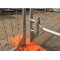Wholesale Hot Dipped Galvanized 300gram/sqm 42 microns zinc layer thickness Temporary Fence Panels 2.1mx2.4m from china suppliers