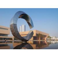 Quality 500cm Large Outdoor Metal Sculptures Abstract For Building Decoration for sale