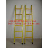 Wholesale A-shape fiberglass insulated ladders hot selling ladder from china suppliers