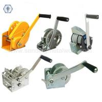 Wholesale Hand Winch 600lbs Trailer Winch 600lbs Strap/Webbing/Dyneema Rope Boat Car Marine Trailer from china suppliers