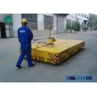 Wholesale environmental platform structure motorized trackless transfer carriage with limit switch from china suppliers