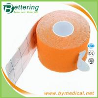 Wholesale Kinesiology Tape Gymnastic Sports Muscles Care Therapeutic Tape orange colour from china suppliers