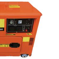 Wholesale 3000/3600Rpm 7500T Super Silent Diesel Engine Generator 5kw With Wheels , ISO / CE from china suppliers