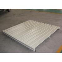 Wholesale Powder Coated Custom Metal Pallets For Warehouse Management Storage , 500-5000kg/Pcs from china suppliers