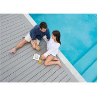 Wholesale Grey WPC Composite Decking Board / Outdoor Floor Decking Tiles from china suppliers
