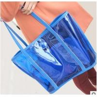 Wholesale fashion transparent beach bag,summer candy bag from china suppliers