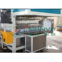 China Recycling Paper Double Roller Egg Carton / Egg Tray Pulp Moulded Machine 1 Year Warranty on sale