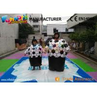 China Cary Funny Inflatable Sports Games Sumo Wrestling Suits With Sponge Mat on sale