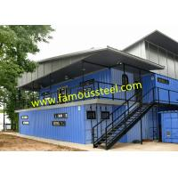China Modular Container Hotel Solutions Affordable Shipping Containers For Single - Family Options on sale