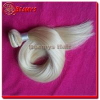 Wholesale Beamys hair 2015 new arrival charming style 613 color 100% unprocessed virgin human brazilian hair from china suppliers