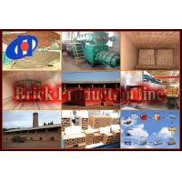 China clay brick making machine on sale
