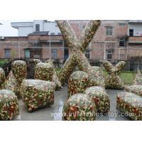 Wholesale Inflatable Outdoor Games Air Bunker Camouflage Paint Ball For Shooting Game from china suppliers
