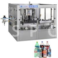 Wholesale Electric Bottle Sticker Labeling Machine For Bottle Neck Body / Back Label from china suppliers