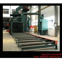 Wholesale Steel Plate / H Beam Shot Blasting Machine For Cleaning And Blasting Before Sanding and Painting from china suppliers