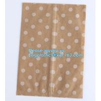 Wholesale Brown Kraft Paper Bags Gift Food Bread Candy Wedding Party Bags,Foil Lined Kraft Design Paper Window Bread Bags for food from china suppliers