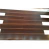 5 x 3/4 exotic dark stained african hardwood flooring - okan for sale