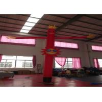 China Nylon Advertising Inflatable Air Dancer Man Inflatable sky man Advertising Balloons for commercial activity on sale