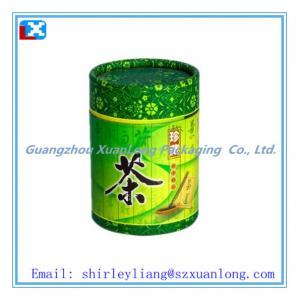 Wholesale Round peper tea box, Tube tea box from china suppliers
