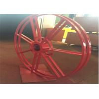 China Industrial Type Spring Cable Reel Drum For Cable Control , Cable Reeling Drum on sale