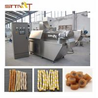 China SS Single Screw Food Extruder , Automatic Pet Food Processing Machinery for sale