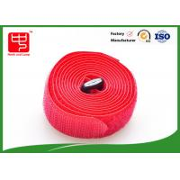 China 100% nylon straps with hook and loop ,  adjustable hook and loop straps 25mm Width 200mm Length on sale