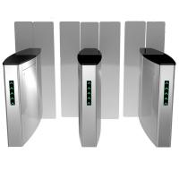 Wholesale Stailess Steel Sliding Turnstile Security Systems, High Speed Gates Flap Barrier from china suppliers