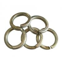 China Machinery Stainless Steel Spring Washers Galvanized Spring Lock Washers for sale