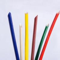China Silicon rubbe coated fiberglass sleeving on sale