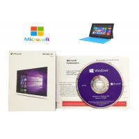 Wholesale Microsoft Windows 10 Product Key Sticker DVD COA License Professional pro WIN from china suppliers