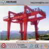 Material Handling Double Girder Gantri Crane With Bridge Girder for sale