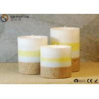 Wholesale gaoerjia lovely 3 Set Flameless Battery Operated LED Pillar Candles from china suppliers
