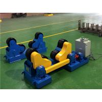 China 5T welding turning roller    self-alignment  plastic with steel wheels for sale