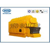 China Gas Fired  Hot Water Steam Boiler / Industrial Water Tube Boiler Single Drum on sale