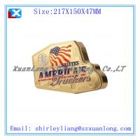 Wholesale small gift tin boxes with hinged lid from china suppliers