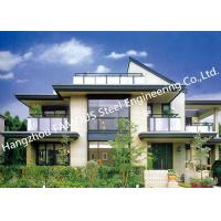 Wholesale Prefabricated Luxury Pre-Engineered Building Customized Steel Villa House from china suppliers