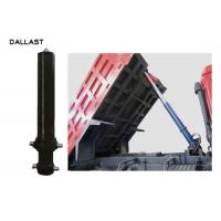Buy cheap Anti Rust Painting Single Acting Dump Trailer Hydraulic Cylinder 3 Stage Type from wholesalers